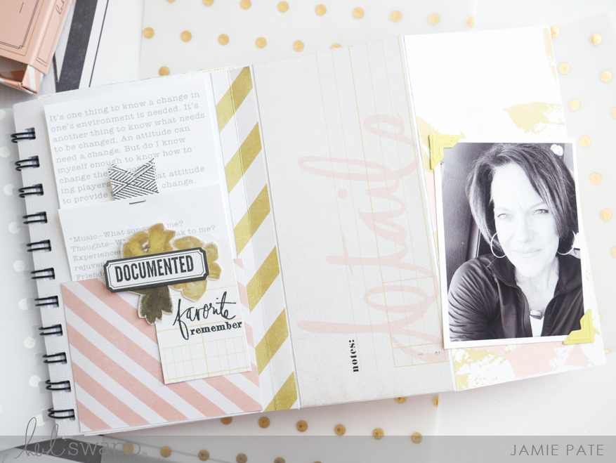 How To Make Today Count Heidi Swapp Emerson Lane Mini Album by Jamie Pate | @jamiepate for @heidiswapp