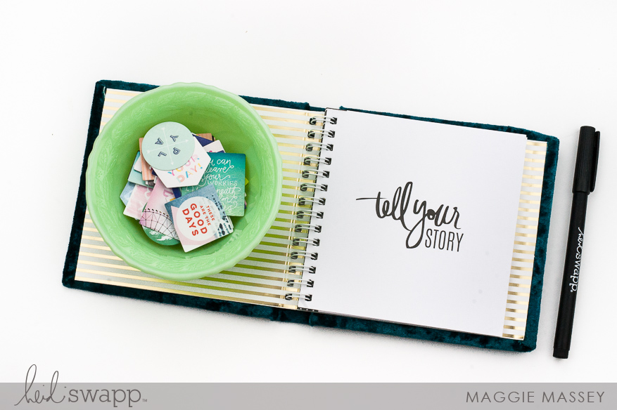 Nat'l Write Your Story Day | Handmade by Heidi | Maggie Massey for Heidi Swapp