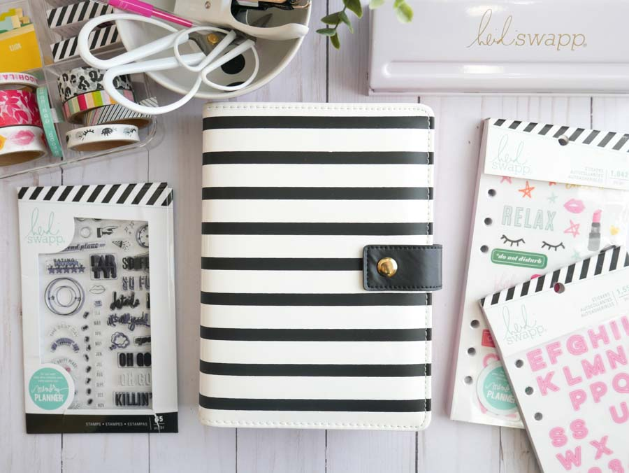 DIY Planner Dashboard Free Class by @jamiepate for @heidiswapp