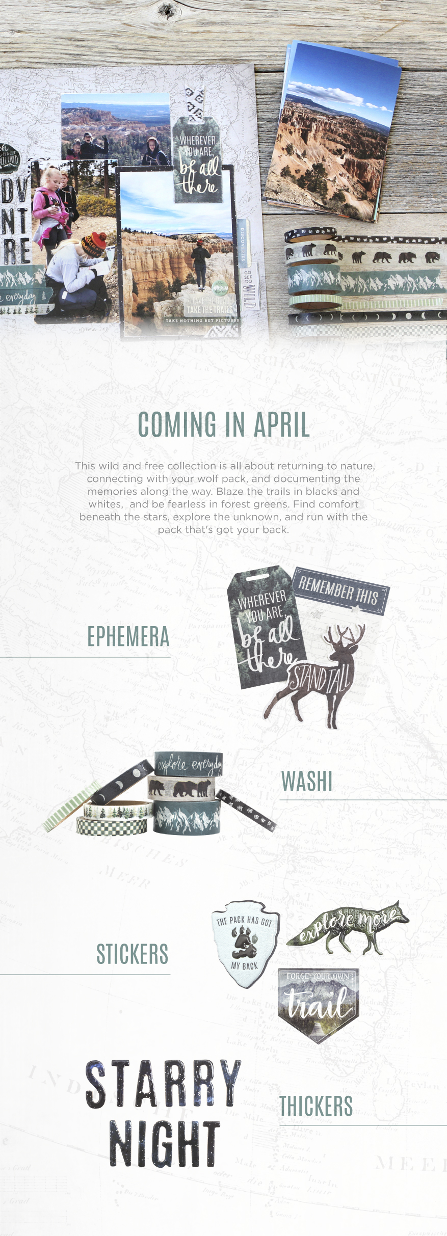 Introducing Wolf Pack by @heidiswapp