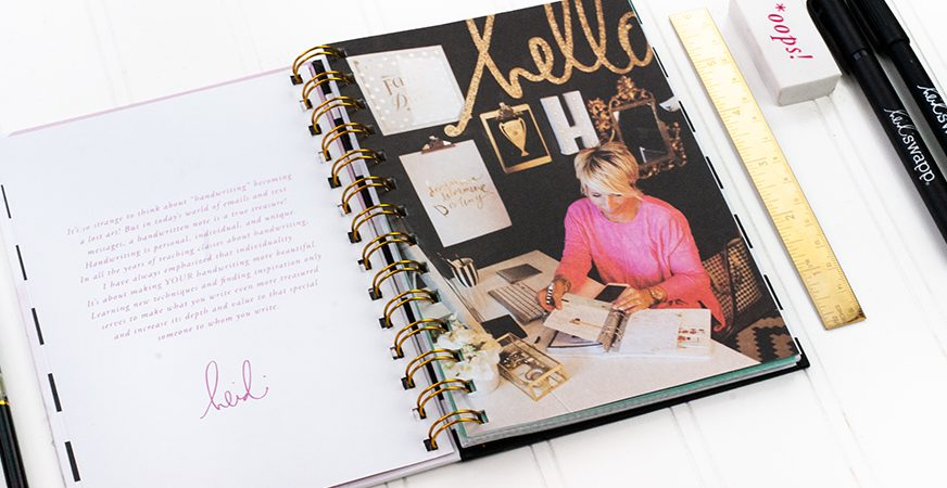 Handmade by Heidi | Lettering Kit - Maggie Massey for Heidi Swapp