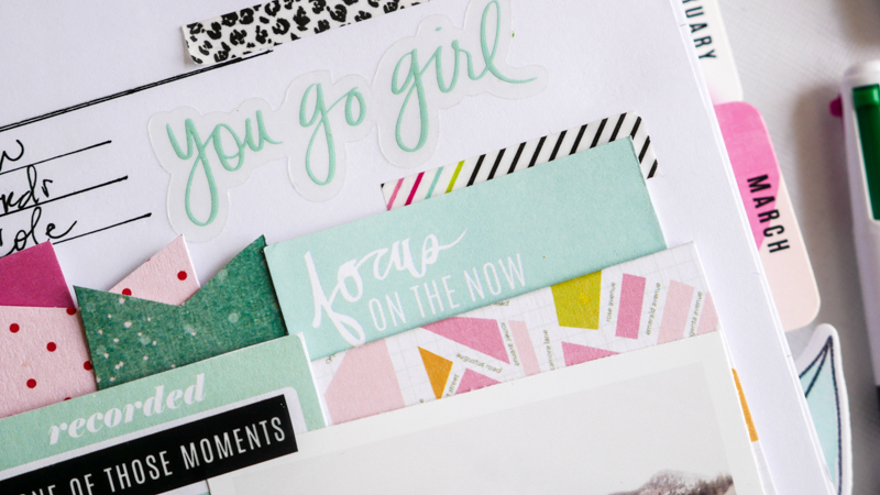 Heidi Swapp Memory Planner and Pocket Ideas by Jamie Pate | @jamiepate for @heidiswapp