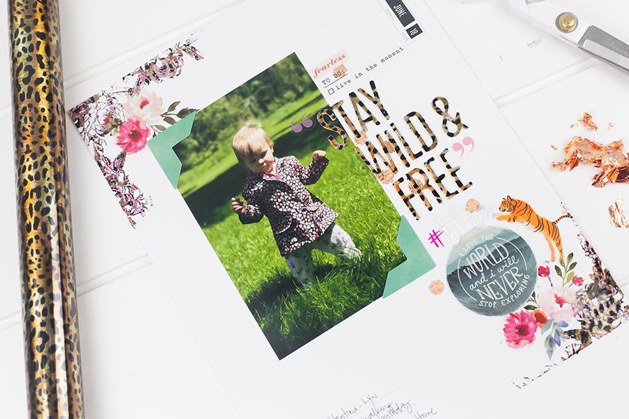 3 Wild MINC Techniques by Lindsay Bateman for @heidiswapp