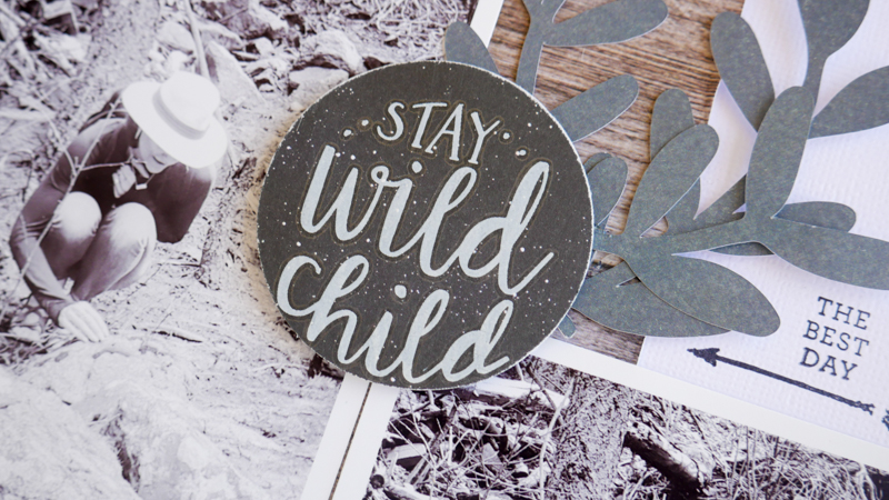 Stay Wild With Heidi Swapp Wolf Pack by Jamie Pate | @jamiepate for @heidiswapp