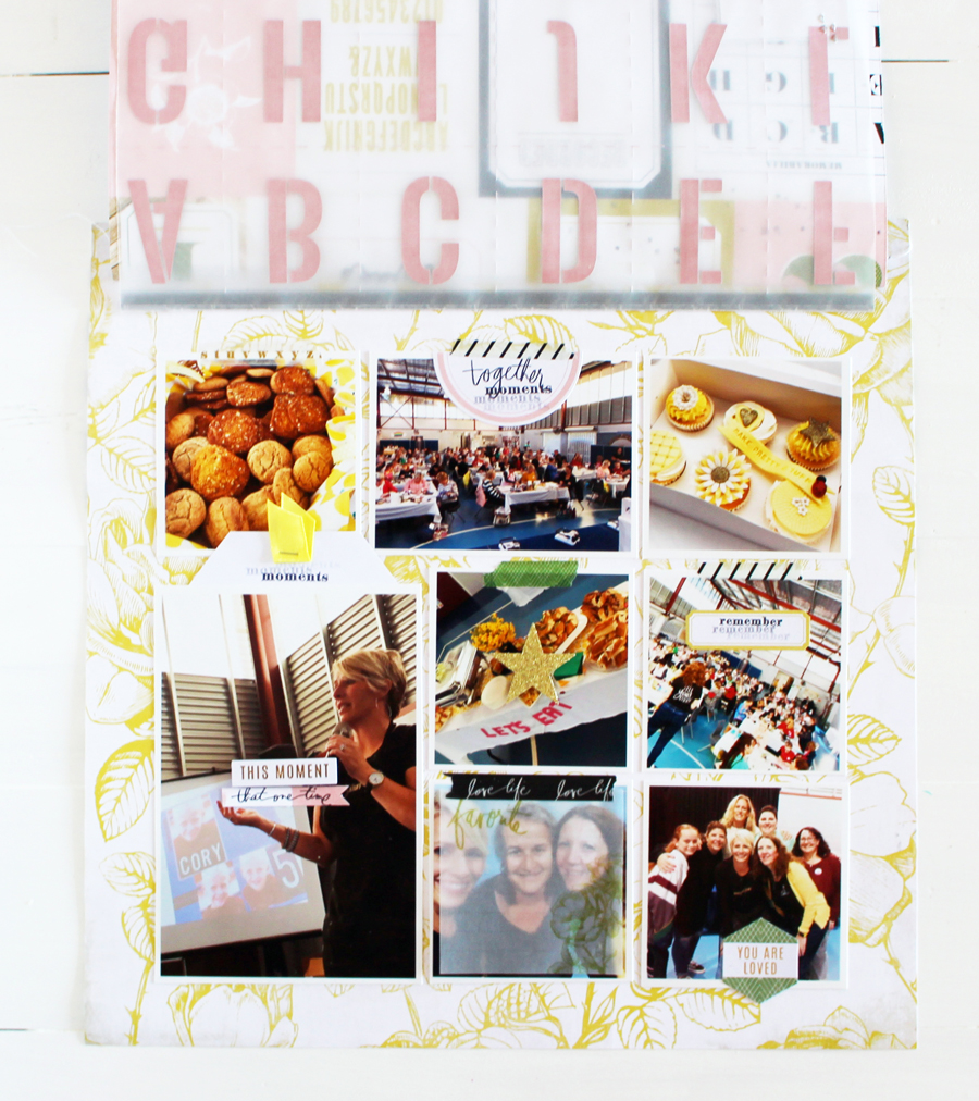 Interactive Layout FREE Class by Kim Jeffress for @heidiswapp
