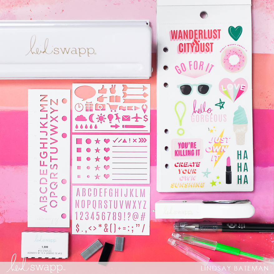 Must Have @heidiswapp Planner Tools