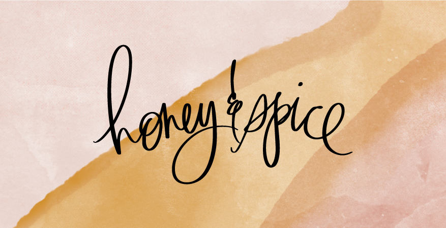 Introducing Honey & Spice by @Heidiswapp