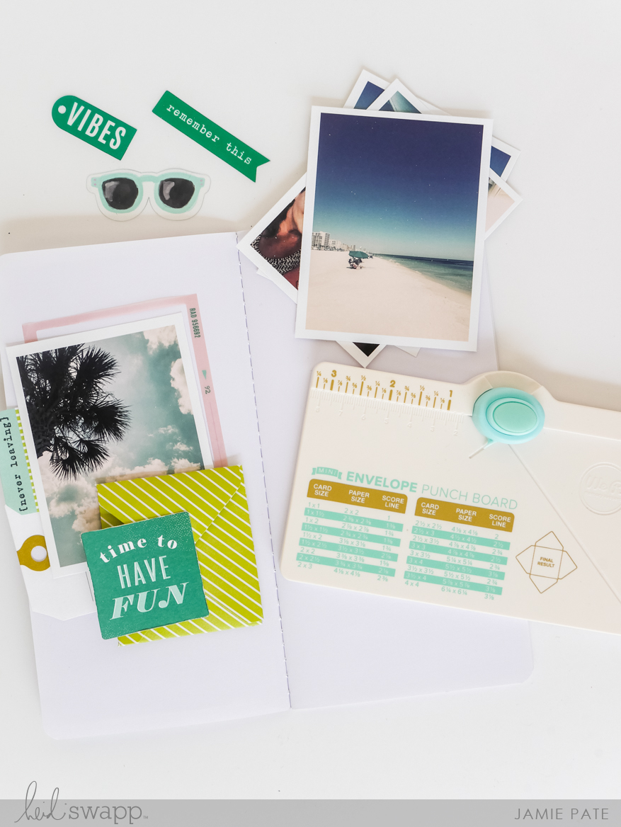 Here's How To Use Heidi Swapp Travelers Journal Plus Great Tools by Jamie Pate