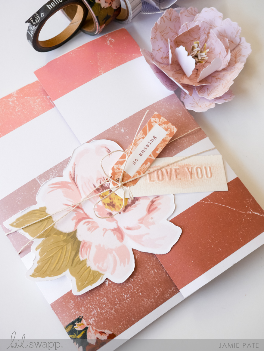 Heidi Swapp Honey and Spice Mini Album