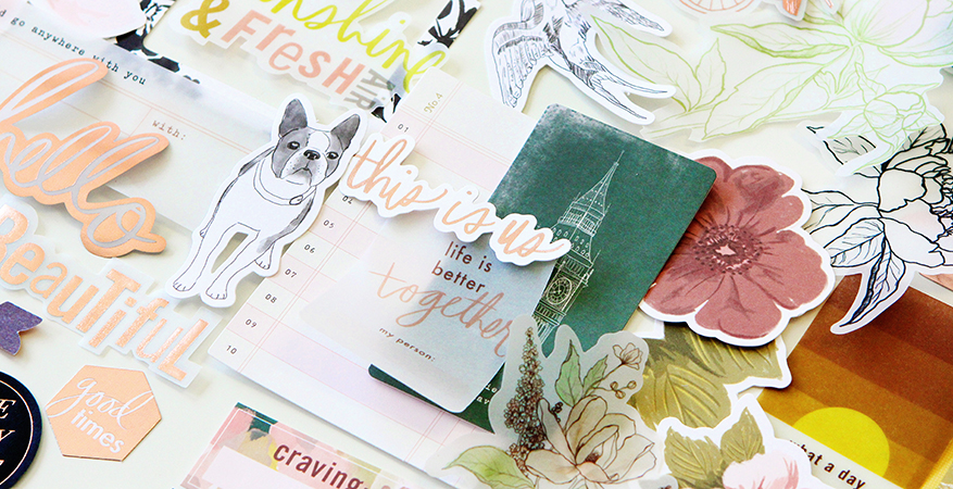 Introducing Honey & Spice a collection by @heidiswapp