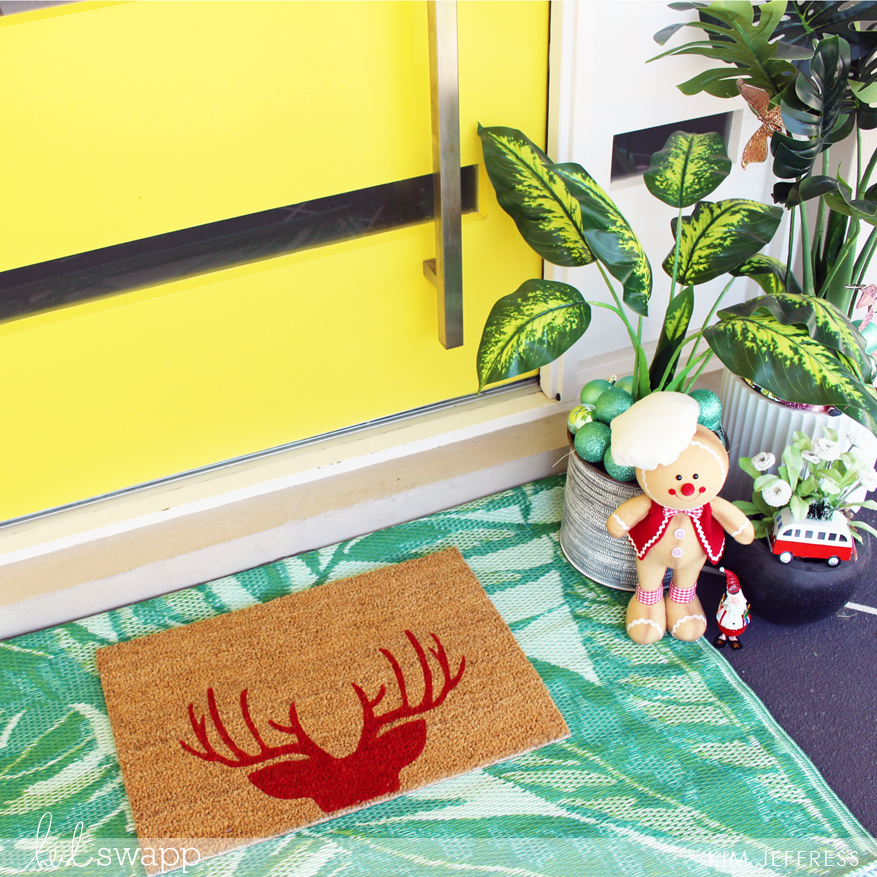Heidi Swapp DIY Door Mats