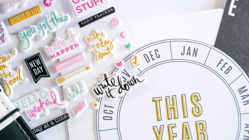 How To Plan 2020 With Heidi Swapp Travelers Notebook