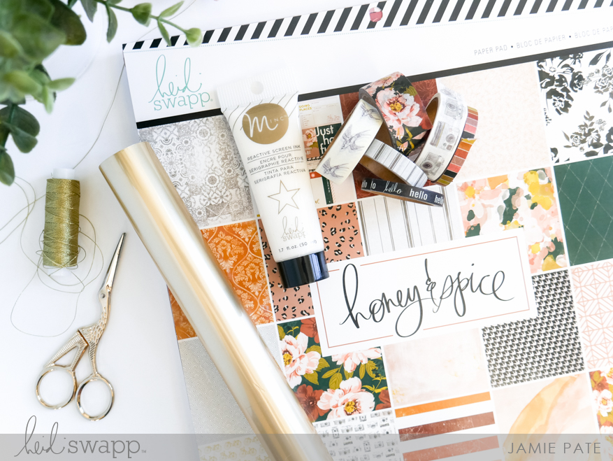 Honey and Spice Tage Mini Album Class