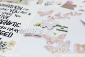 storyline chapters journal I @lindsaybateman for @heidiswapp