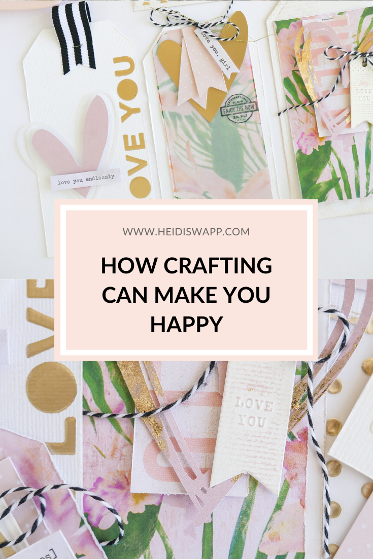How Crafting Can Make You Happy by @jamiepate for @heidiswapp