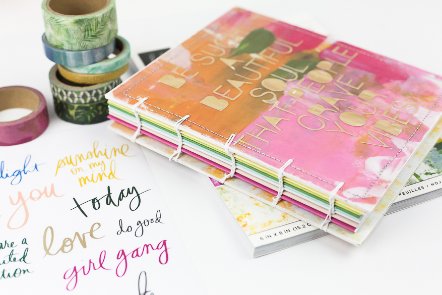 art walk coptic notebook I @lindsaybateman for @heidiswapp