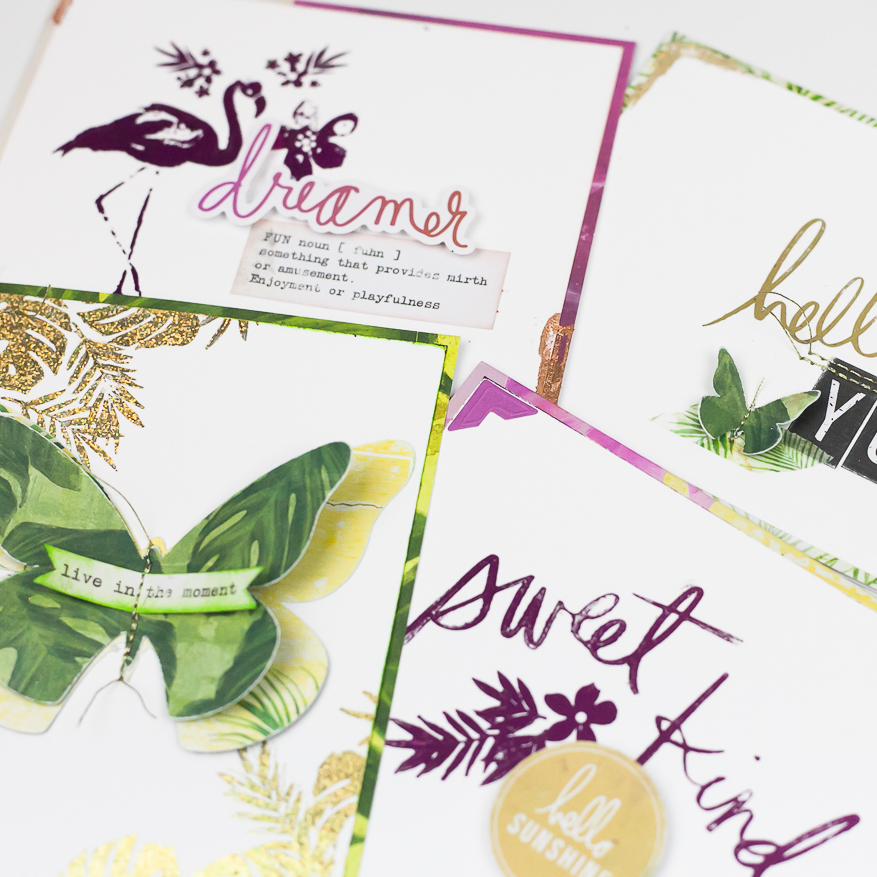 minc it monday stamping with toner ink I @lindsaybateman for @heidiswapp