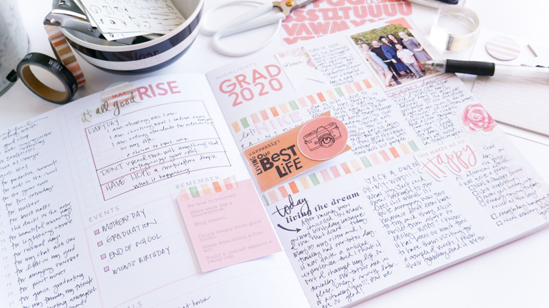 Heidi Swapp Storyline Chapters Planner Persona