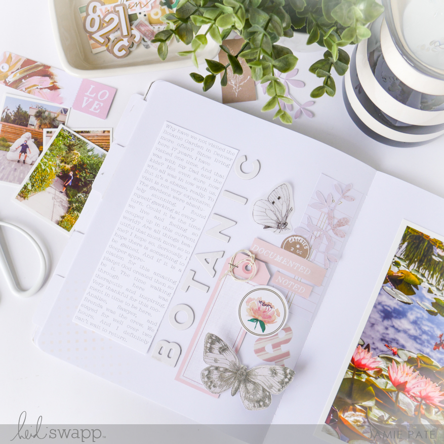 Scrapbook is a Celebration with Heidi Swapp Storyline Chapters