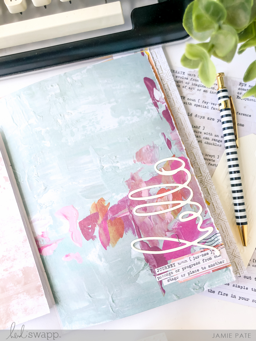 Heidi Swapp Art Walk Collection | Journal by Jamie Pate