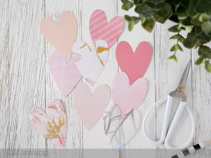 How To Love Your Patterned Paper Scraps by Jamie Pate