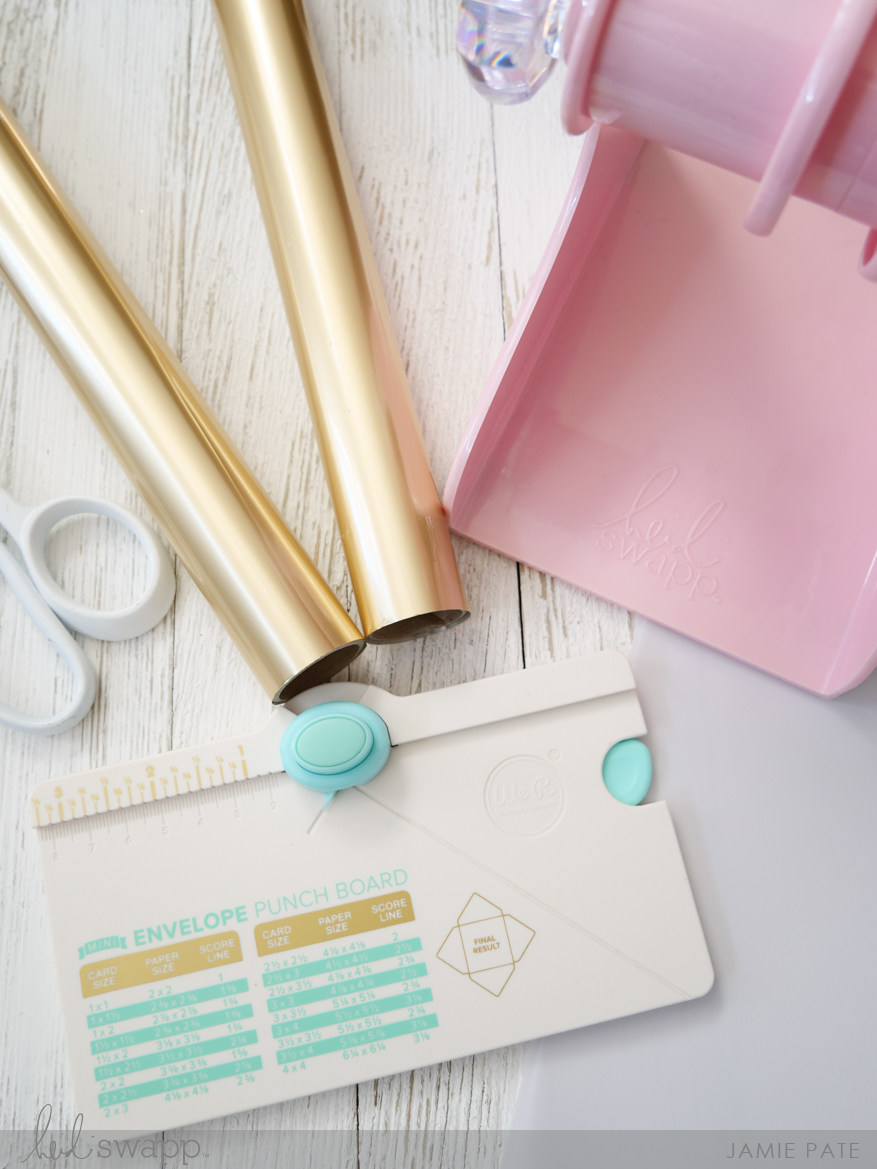 Heidi Swapp Blush MemoryDex Spinner Comes To the Party by Jamie Pate