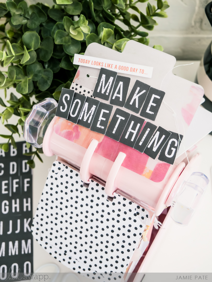 Heidi Swapp MemoryDex Blush Spinner and National Crafting Month