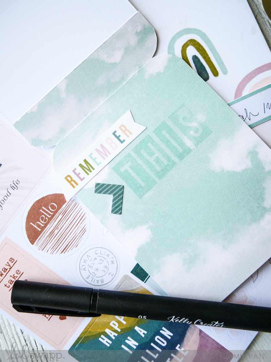Heidi Swapp Care Free Collection | Mini Card Tag by Jamie Pate