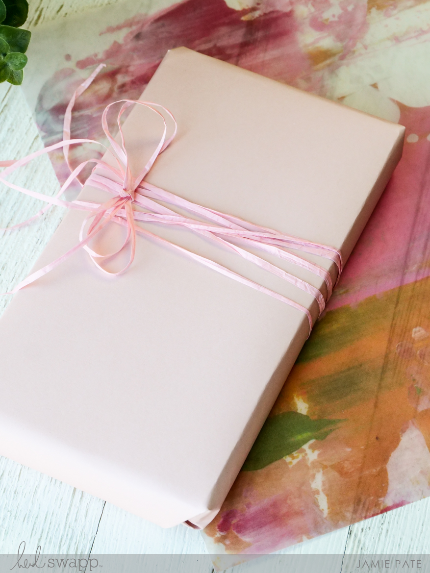 Gift Wrap & Tag in 3 Easy Steps